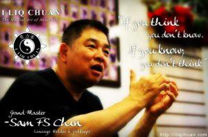 "Read more about the article ""Zen a sztuka walki"" – wykład otwarty Mistrza Sam FS Chin"